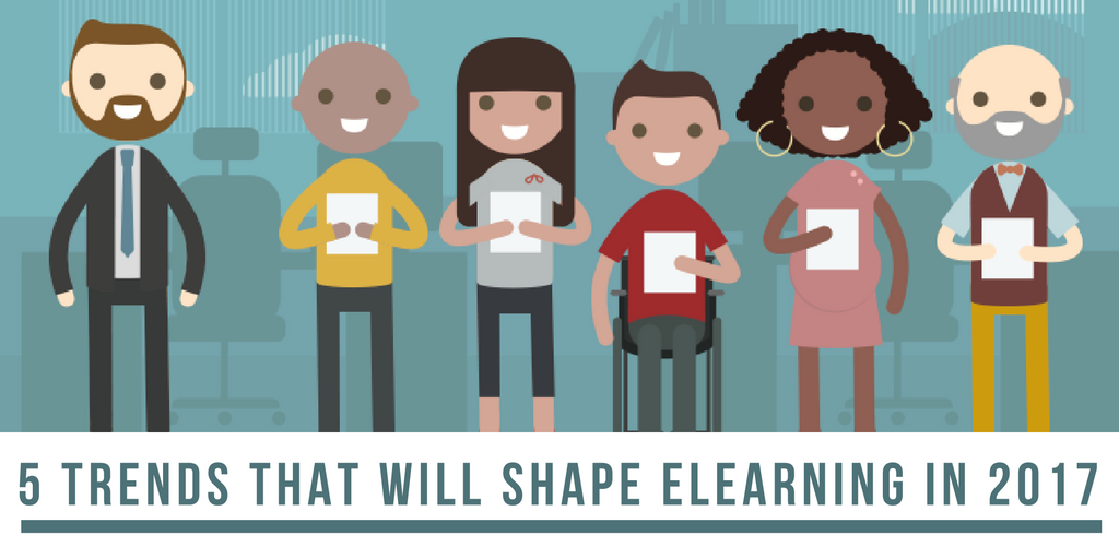 5 trends that will shape elearning in 2017