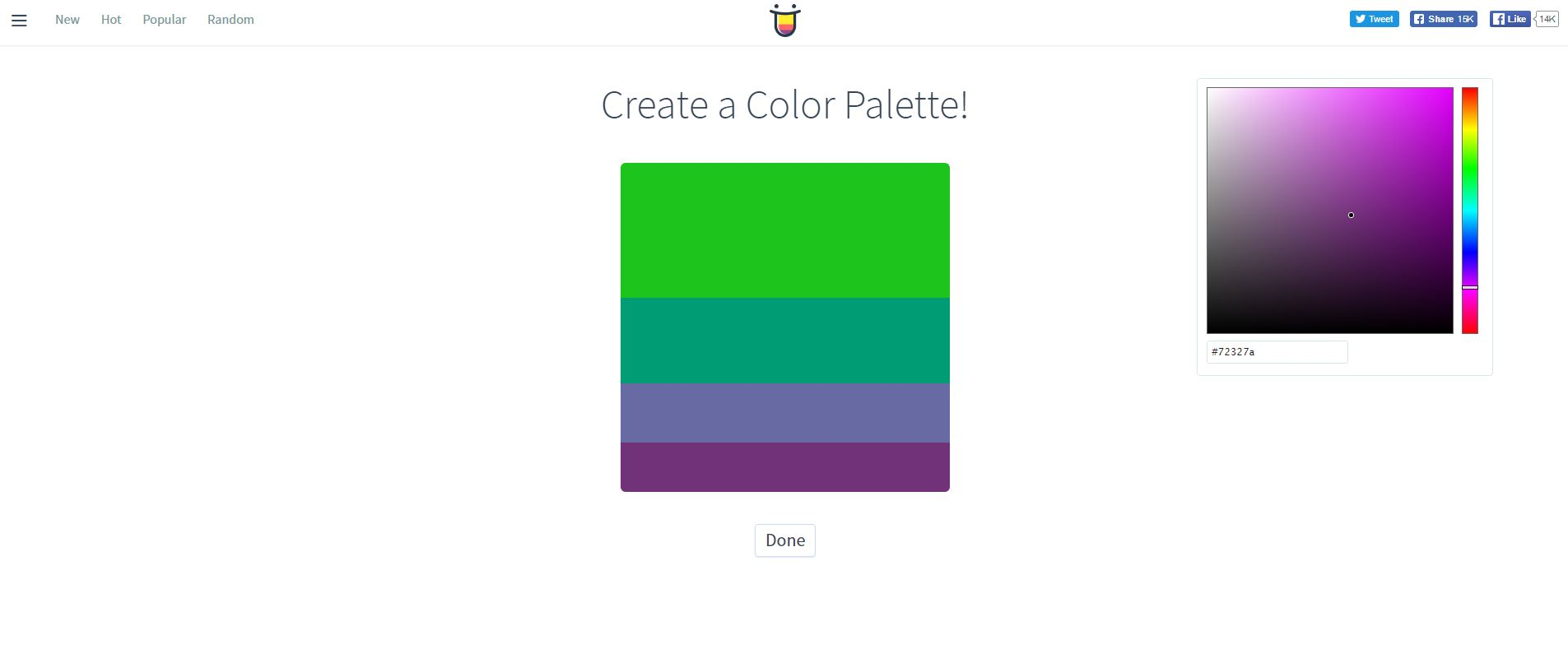 4 tools to help you find the perfect colour palette